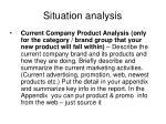 situation analysis1