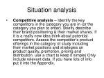 situation analysis4