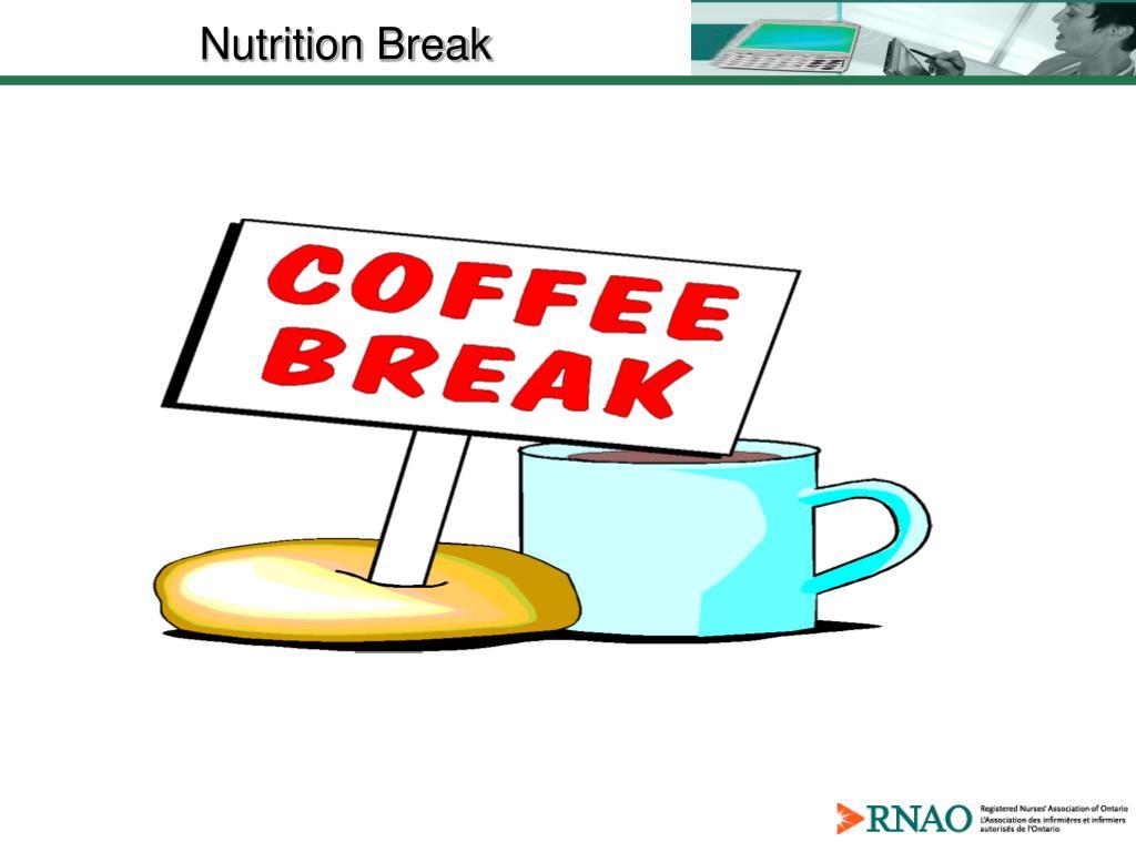 Nutrition Break