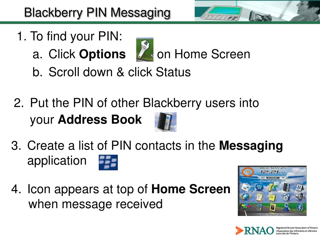 1. To find your PIN:
