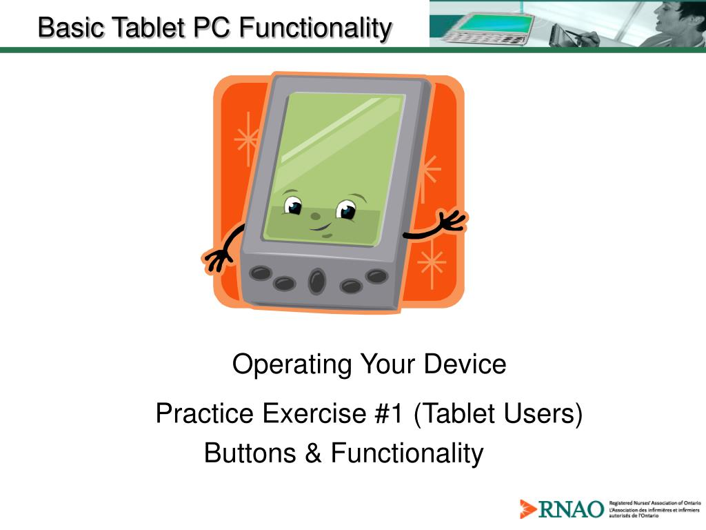 Operating Your Device