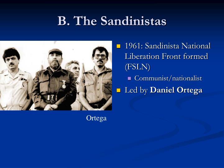 B. The Sandinistas