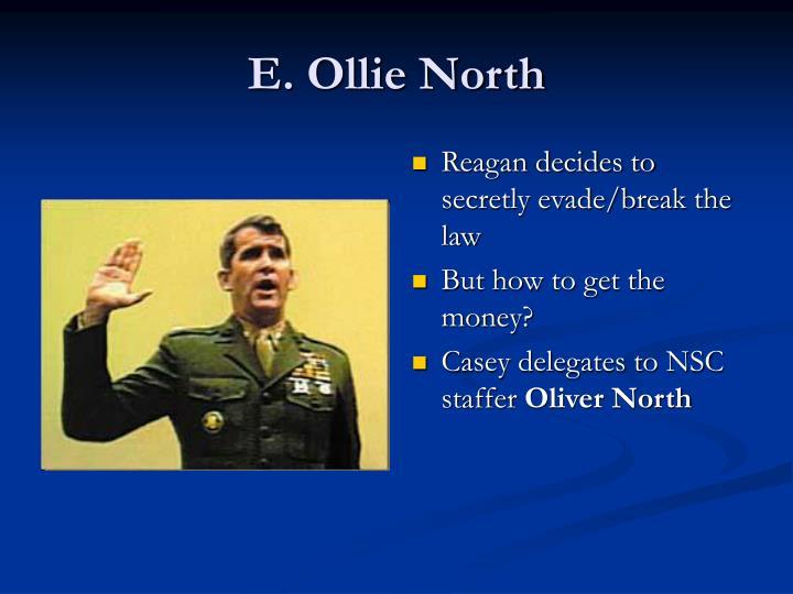 E. Ollie North