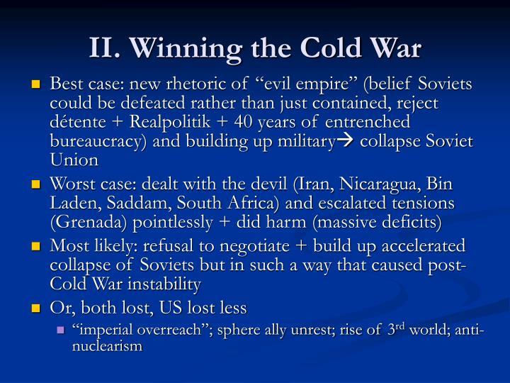 II. Winning the Cold War