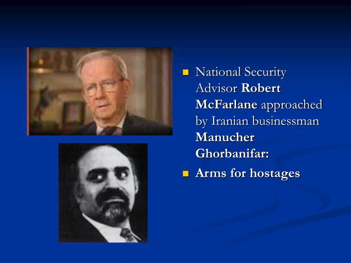 National Security Advisor