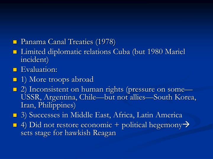 Panama Canal Treaties (1978)