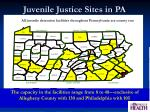 juvenile justice sites in pa