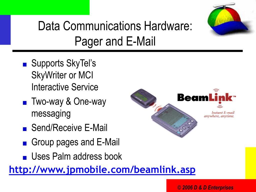 Data Communications Hardware: