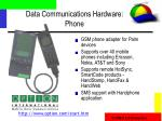 data communications hardware phone