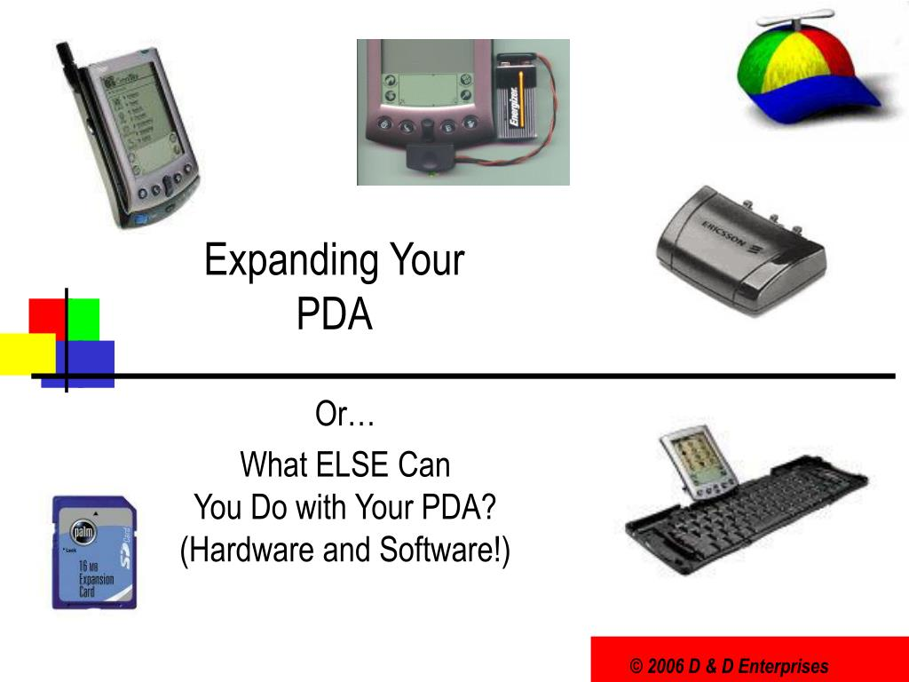 expanding your pda l.