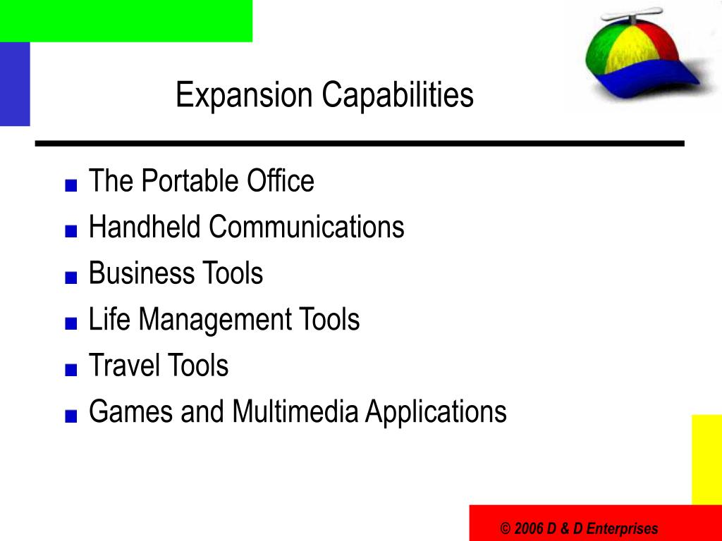 Expansion Capabilities