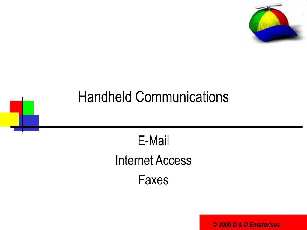 Handheld Communications