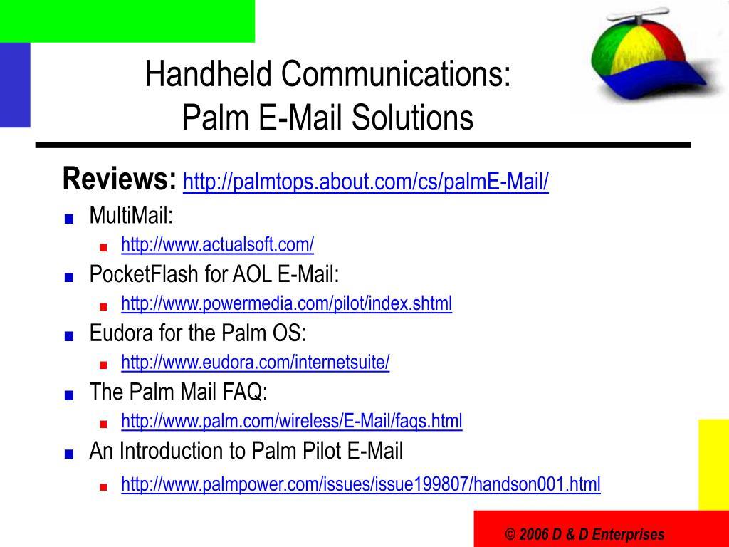 Handheld Communications: