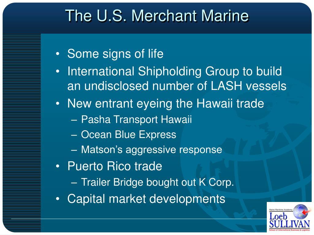 The U.S. Merchant Marine