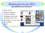 multimedia for the pda13