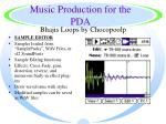 music production for the pda42