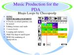 music production for the pda45