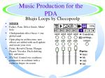 music production for the pda46