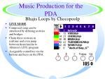 music production for the pda48