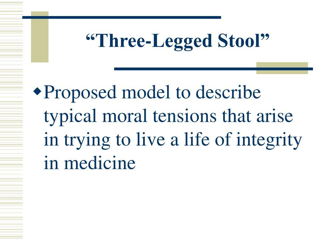"""Three-Legged Stool"""