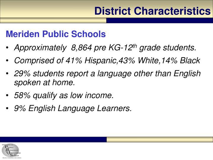 District Characteristics