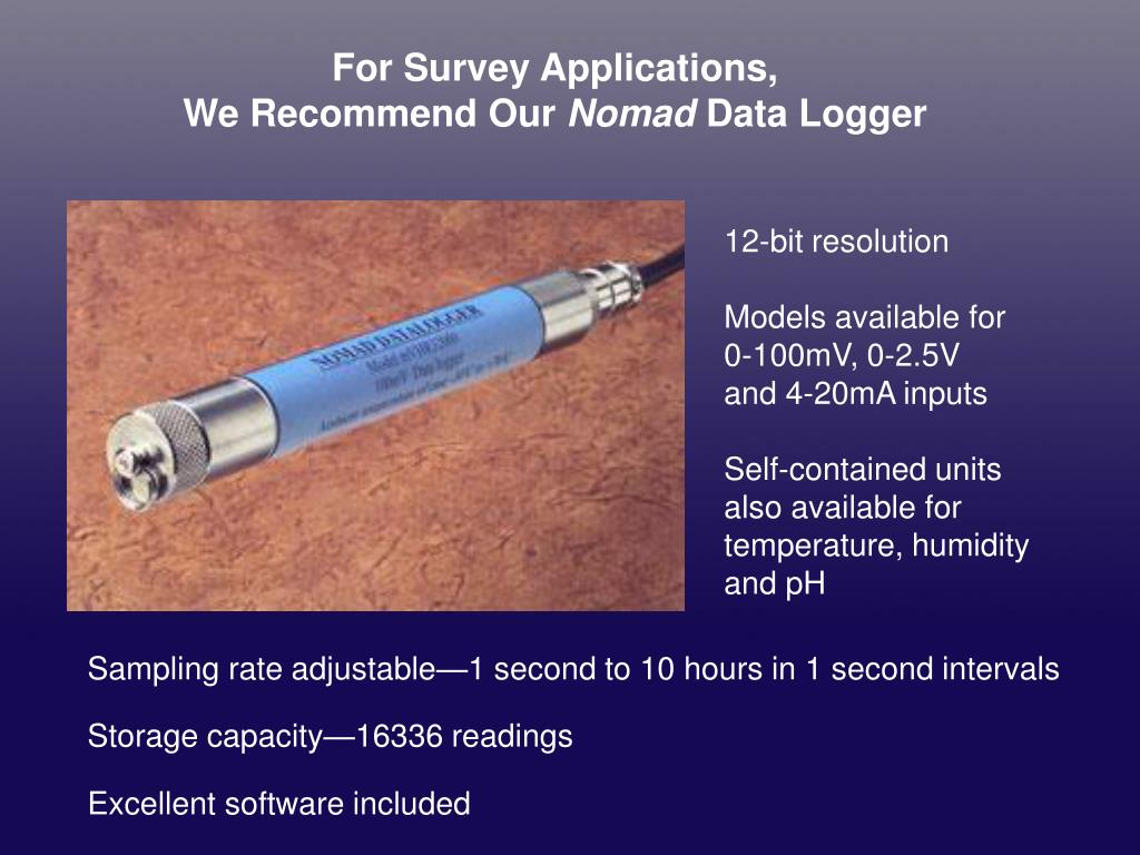 For Survey Applications,