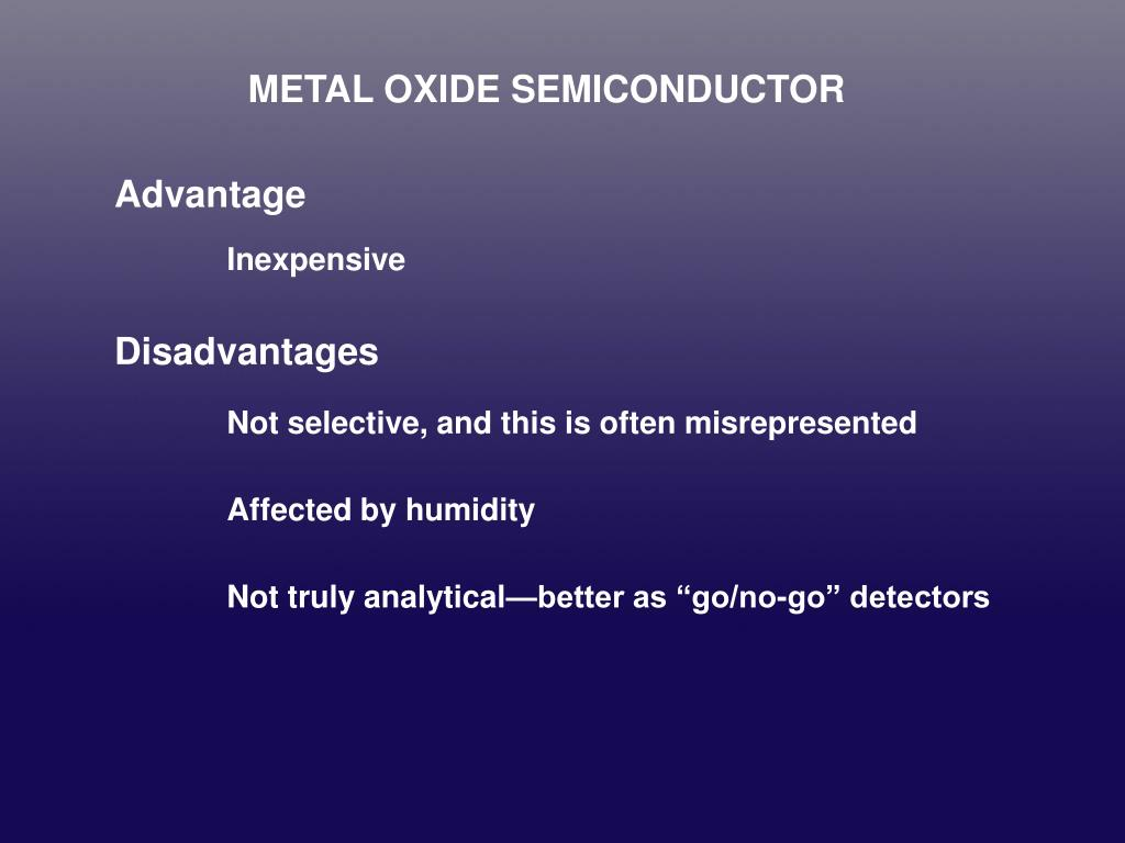 METAL OXIDE SEMICONDUCTOR