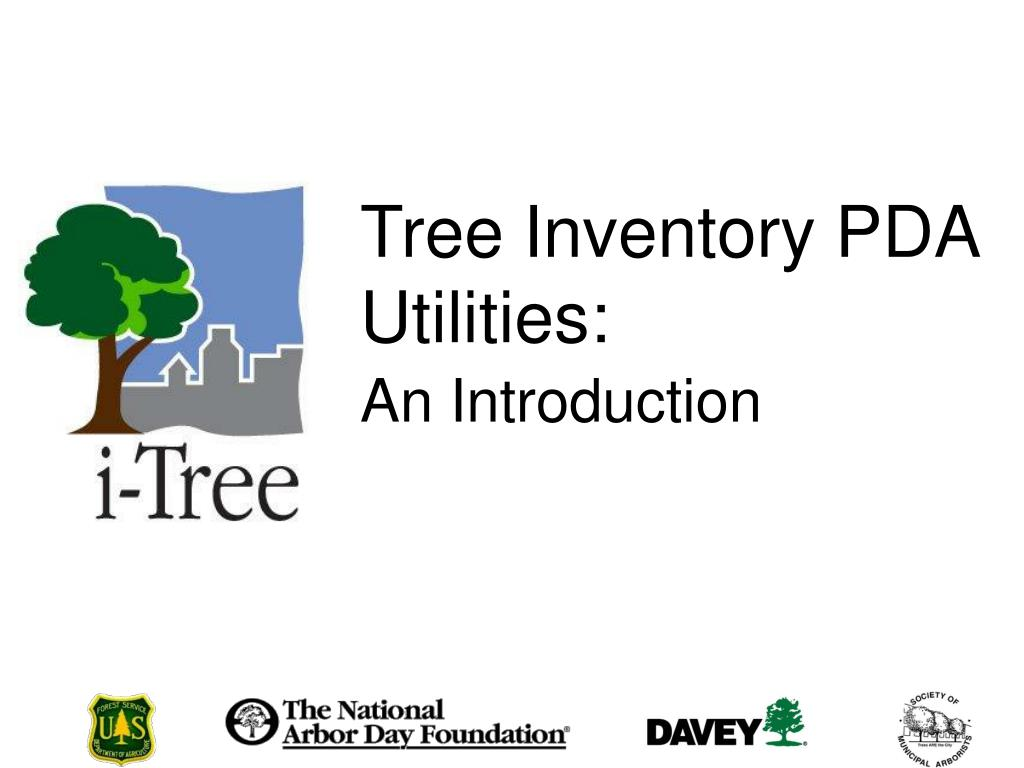 tree inventory pda utilities l.