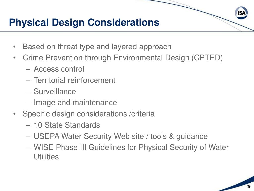 Physical Design Considerations