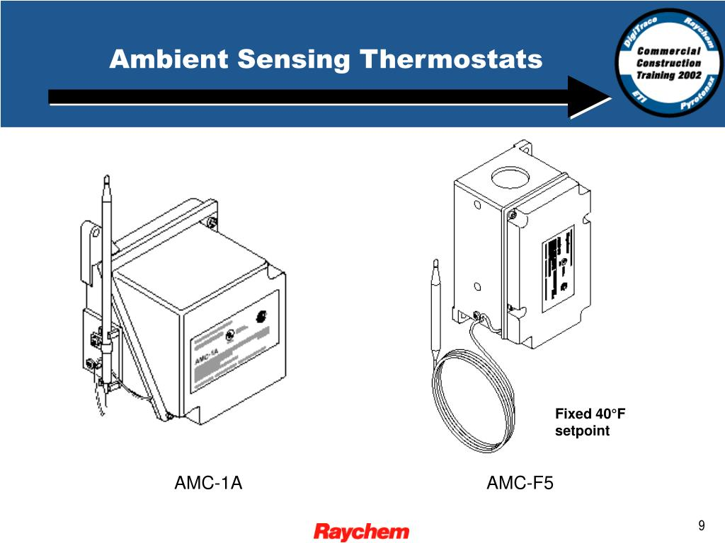 Ambient Sensing Thermostats