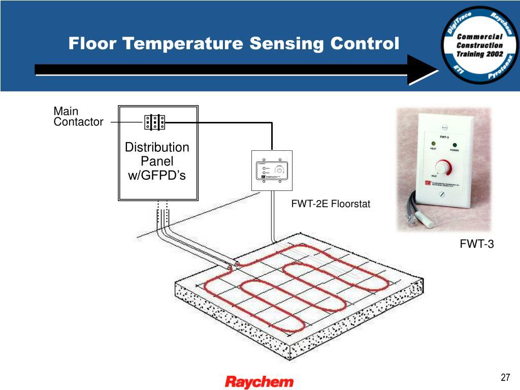 Floor Temperature Sensing Control