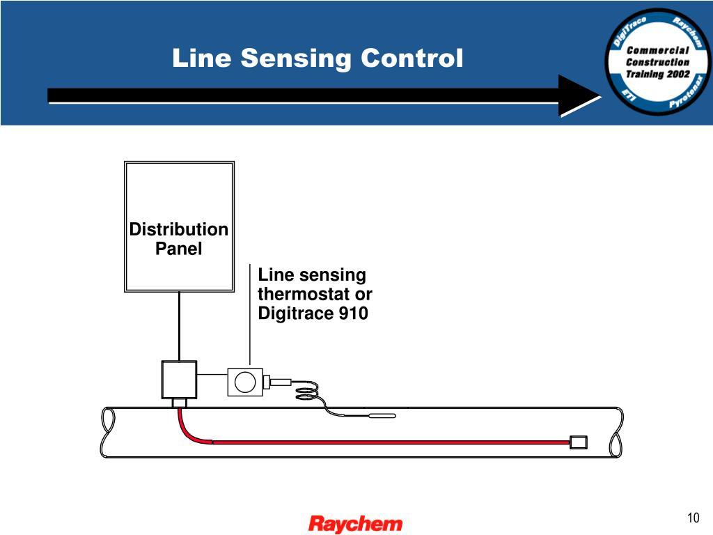 Line Sensing Control