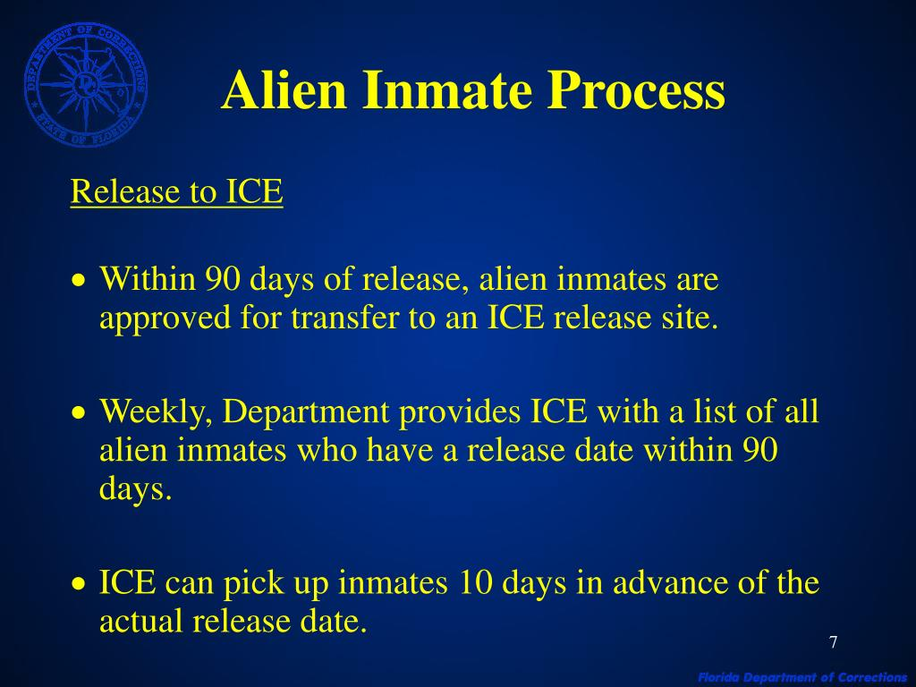 admission and releasing of inmates Inmate re-entry assistance effective september 1, 2015 – (hea 1269) before  discharge or release from a county jail of an offender.