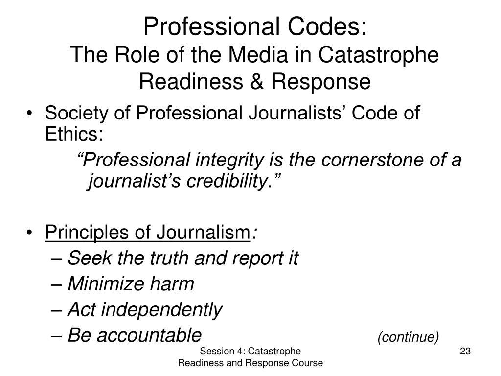 Professional Codes: