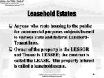 leasehold estates24