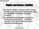 rights and duties liability