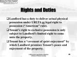 rights and duties29