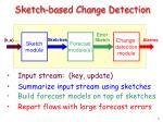sketch based change detection5