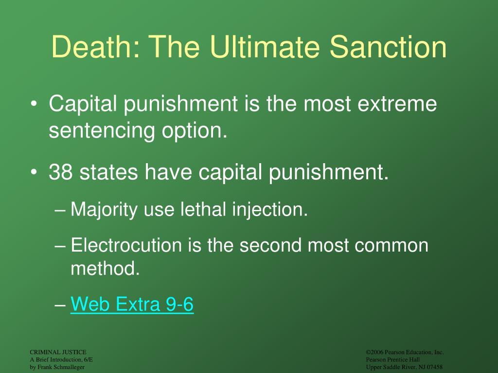 Death: The Ultimate Sanction