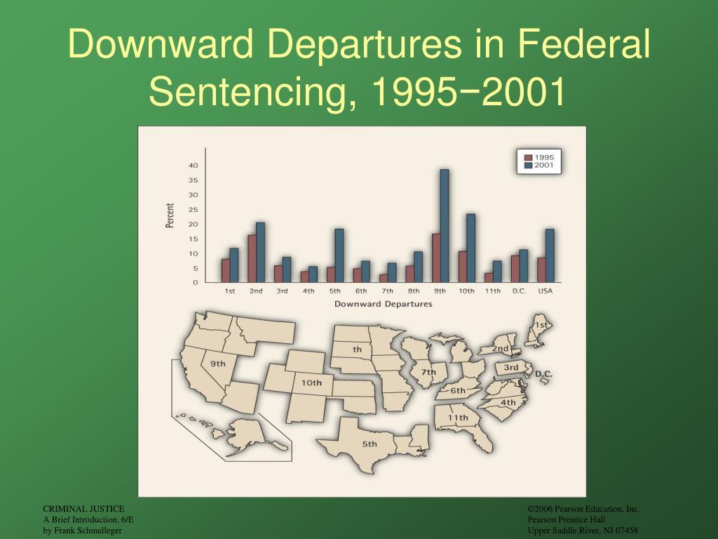 Downward Departures in Federal Sentencing, 1995