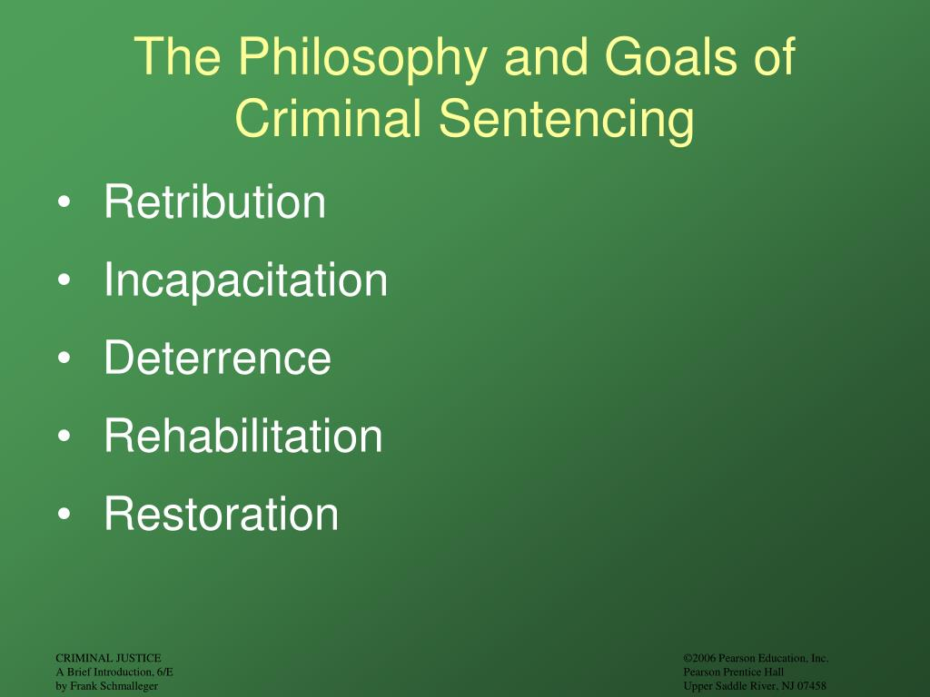 goals of corrections retribution The goal of retribution is to inflict some type of revenge society  the primary  goal of corrections in the united states since the 1960s has been rehabilitation.