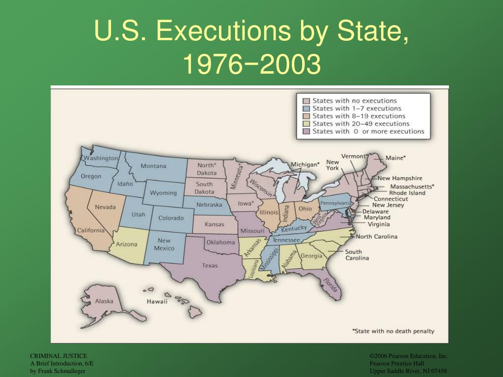 U.S. Executions by State,