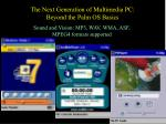 the next generation of multimedia pc beyond the palm os basics30