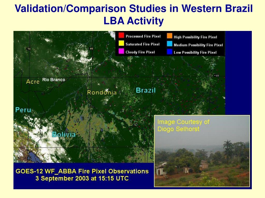 Validation/Comparison Studies in Western Brazil