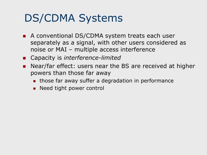 Ds cdma systems