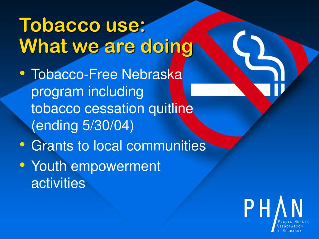 Tobacco use: