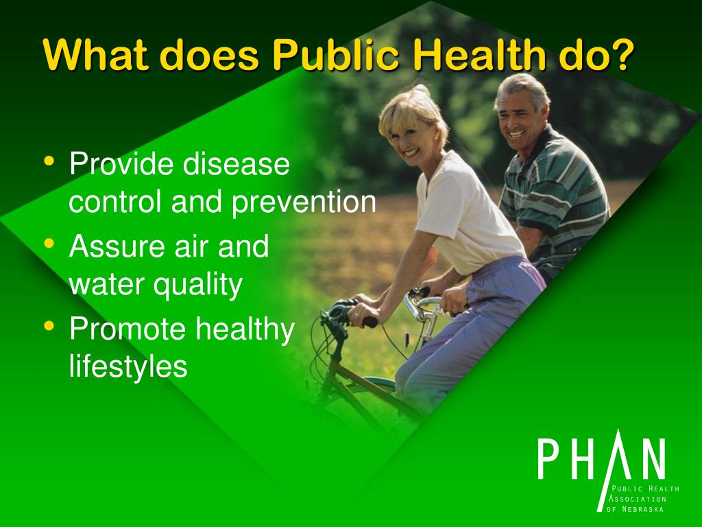 What does Public Health do?