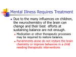 mental illness requires treatment