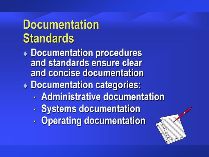 Documentation Standards