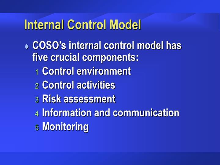 Internal Control Model